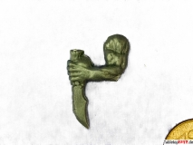 Ork linker Arm mit Messer